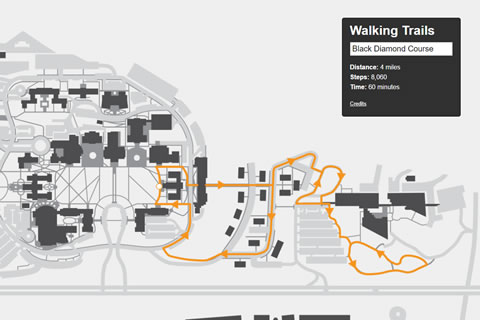 sample walking trails map