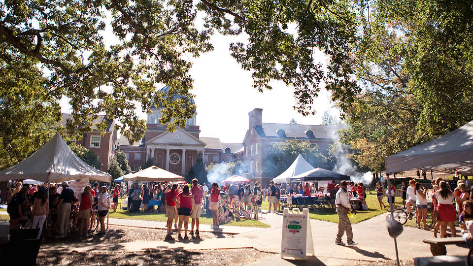 Preview Days on the Quad