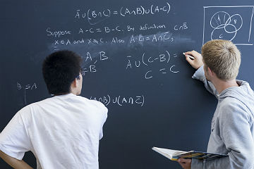 Students Performing Calculations