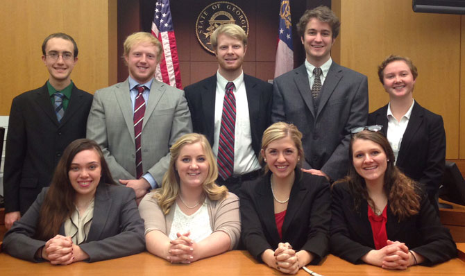 Students and Mock Trial