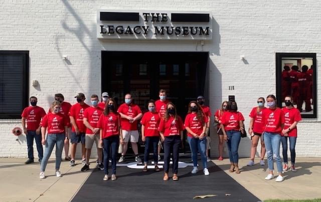 First Year Students at Legacy Museum