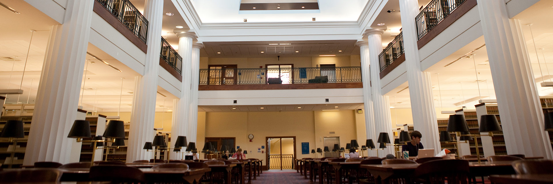 law library interior Header