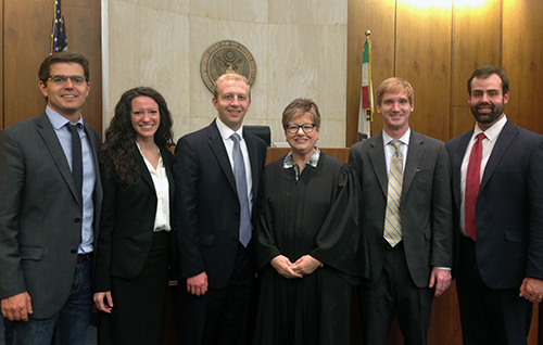 15th Annual National Trial Advocacy Competition 1st Place Fall 2014