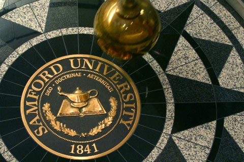Pendulum University Seal