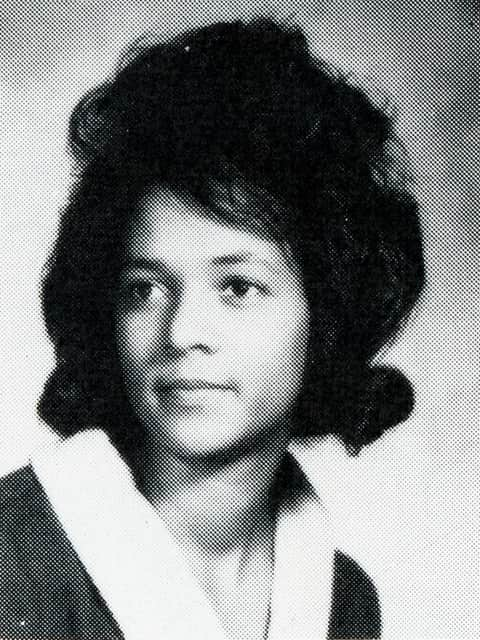 Yearbook Photo of Audrey Gaston