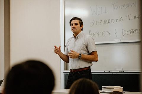 divinity professor teaching