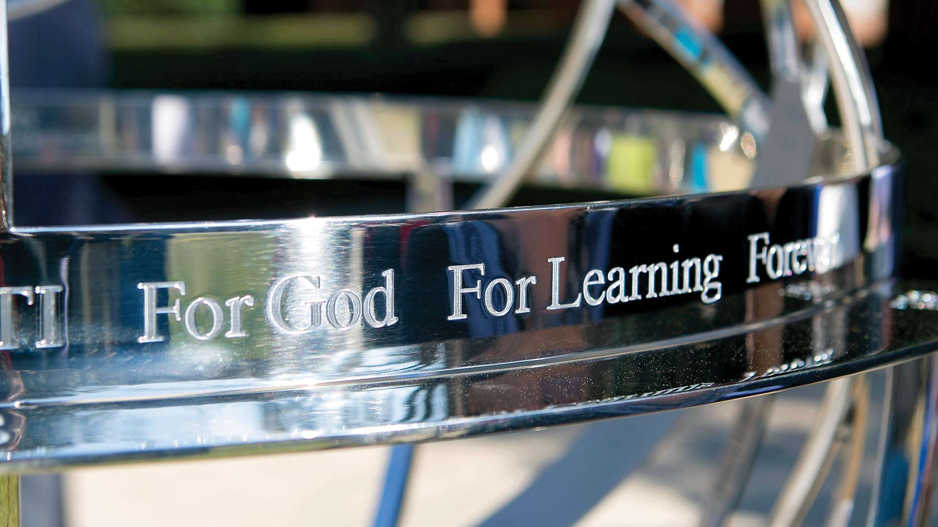 for god for learning forever sphere