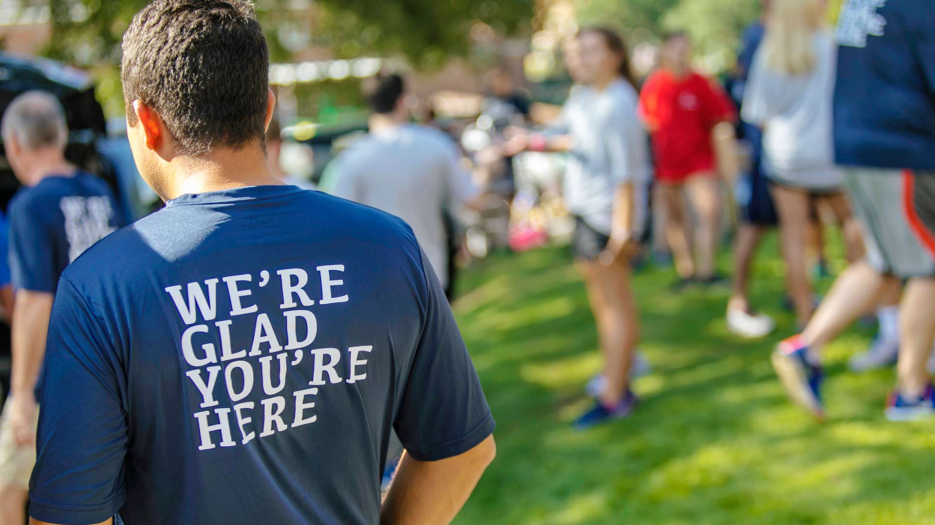 were glad youre here t shirt