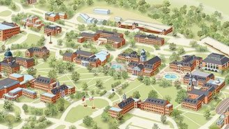 Map of Samford University Campus