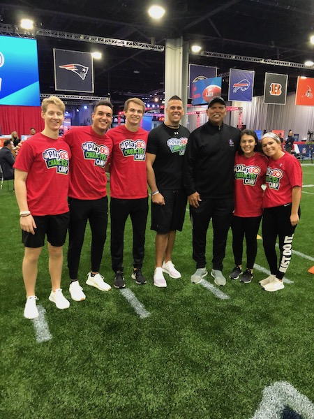 Samford Business Students Join NFL Athletes for Play 60 Character