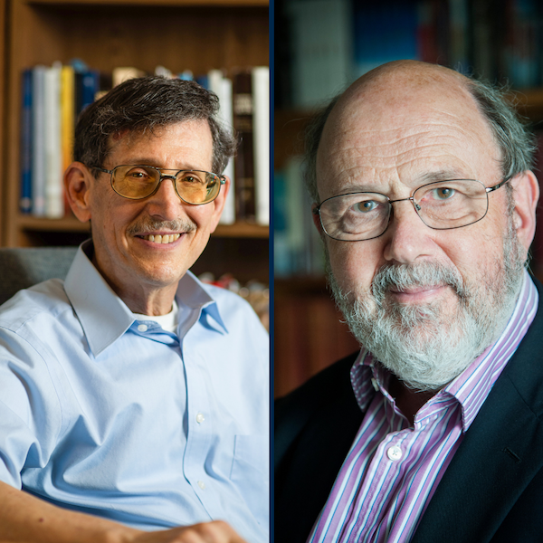 Mark Kinzer (left) and N.T. Wright (right)