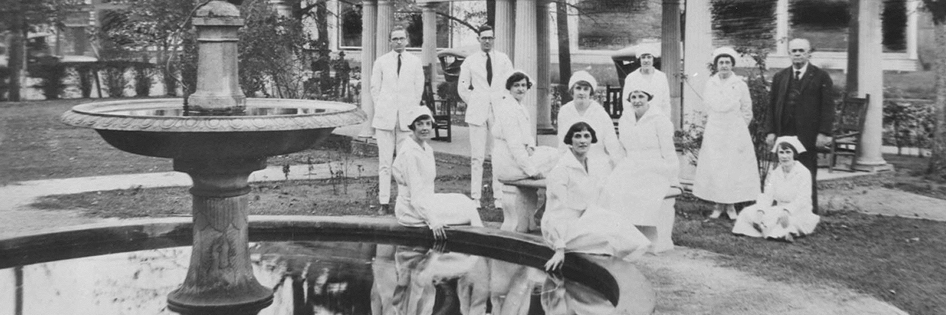 nurses and doctors 1925