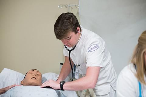 major in nursing at samford