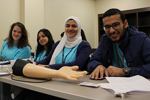 pharmac students learning