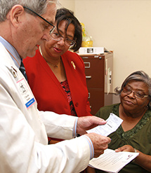 Pharmacy dean assists women in Perry County