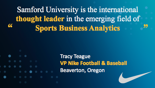 Quote from Tracy Teague, Vice President, Nike Football & Baseball